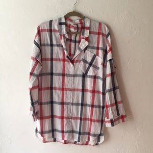 Tops - Long sleeve oversized funky button down